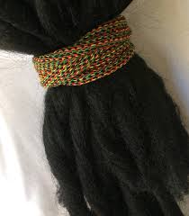 dreadlock accessories rasta snag free dreadlock hair ties dreadlock accessories