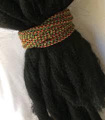 dreadlock accessories rasta snag free dreadlock hair ties dreadlock accessories