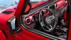 2018 jeep wrangler interior fully revealed 2018 jeep wrangler interior revealed caradvice