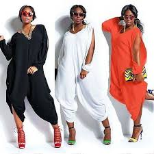 plus size womens jumpsuits sleeve chiffon romper baggy harem jumpsuit plazzo