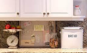 Kitchen Message Board Ideas Tremendeous Kitchen Refresh Your Home Tip 2 Re Organize Clean