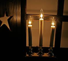 3 light electric brass candle l lighting primitive decor