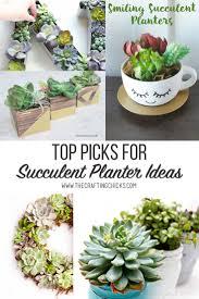 Monogram Planter Top Picks For Succulent Planter Ideas The Crafting