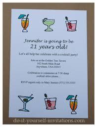21st birthday party invitations u2013 gangcraft net