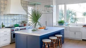 White And Blue Kitchen - 11 beautiful blue kitchens coastal living
