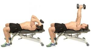 Bench Press Lock Elbows 10 Solid Dumbbell And Kettlebell Exercises For Ripped Arms