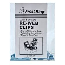Aluminum Web Lawn Chairs Frost King Lawn Furniture Re Web Clips Cl1 Outdoor Furniture