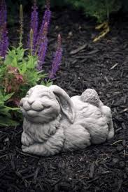 rabbit lawn ornaments 47 best garden statues images on