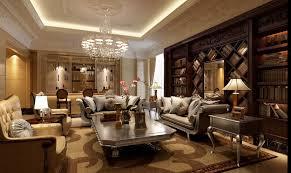 rich rennaisance mahogany library living china interior design