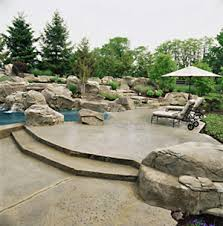 Patio Concrete Designs Concrete Patio Design Pictures And Ideas