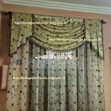 tende con drappeggio le magie cucito un po di stoffa un ago e filo ed ecco