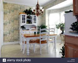 country style white breakfast room stock photo royalty free image