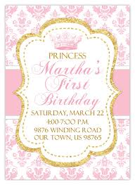 template printable free prince and princess birthday invitations