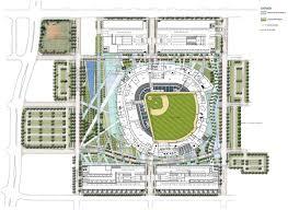 miami ballpark district site plan lg u2013 fish bat