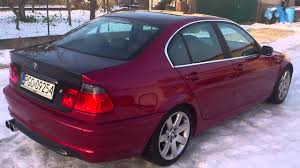 red bmw e46 bmw e46 330d red and black youtube
