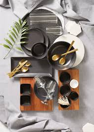 simple modern dinnerware designed to complement your food not