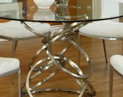patio u0026 pergola wonderful stainless steel dining table set round