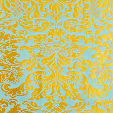 yellow wrapping paper foil wrapping paper damask foil wrapping paper the container store