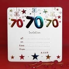 70th birthday invitation templates image collections invitation