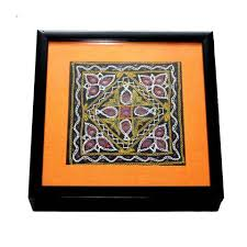 handicrafts for home decoration gujarati embroidery wooden box folkbridge com buy gifts