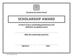 templates for scholarship awards scholarship certificate template scholarship certificate templates