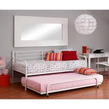 Metal Daybed With Trundle Metal Daybed With Trundle White Walmart Com