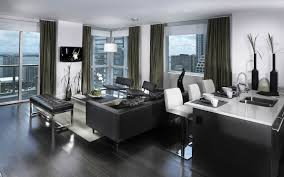 Best Home Decorating Blogs 2011 Magnificent 10 Black And Grey Living Room Wallpaper Design Ideas
