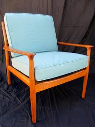 Chair Frames For Upholstery How To Refinish A Vintage Midcentury Modern Chair Diy