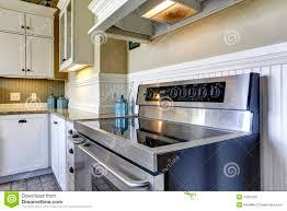 modern kitchen stove modern kitchen stove with flat top stock photo image 42687591