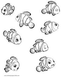 finding nemo coloring pages turtles kids printable free