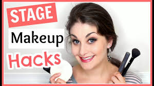 professional stage makeup stage makeup hacks kathryn