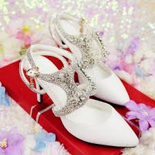 wedding shoes johor bahru white diamond wedding heels party clubbing rbh0228 shoes for