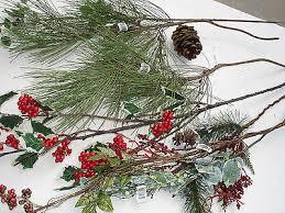 christmas picks christmas picks 7 pcs pine bulk wholesale lot floral crafts