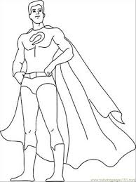 superhero coloring pages 26320 bestofcoloring