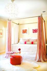 Pewter Curtains Canopy Bed With Curtains Teawing Co