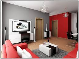 Red Home Decor Ideas Red And Gray Living Room Ideas Dgmagnets Com