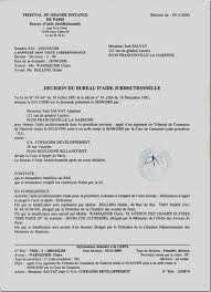 bureau d aide juridictionnelle de rapport de maître marc baroni décision prononcée le 03 novembre