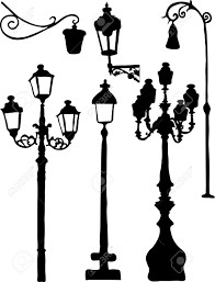 silhouettes of the city lights royalty free cliparts vectors and