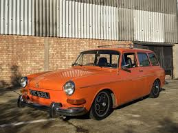 volkswagen orange orange squareback 1972 type 2 detectives