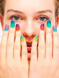 chic ombre nail art for smart