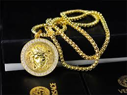 cheap necklace stores images Versace necklace cheap brand jewelries pinterest versace jpg