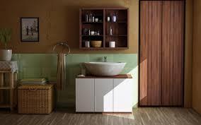 holzmöbel badezimmer waschbeckenunterschrank bilder ideen couchstyle