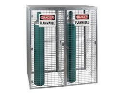 Outdoor Storage Cabinet Gas Cylinder Cabinet Outdoor Storage 20 Tanks Vertical Storage