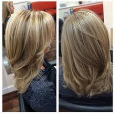 shoulder length hair with layers at bottom 20 hottest medium length haircuts for women 2017 medium length