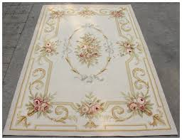 Pastel Area Rugs by 4x6 Aubusson Area Rug Antique French Pastel Wool Handmade Flat