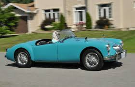 Classic Sports Cars - ottawa to be invaded by classic mga sports cars driving