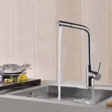 lead free kitchen faucet pull out sus 304 stainless steel pullout
