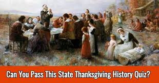 can you pass this state thanksgiving history quiz all about states