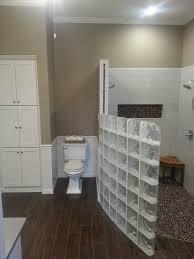 bathroom partition ideas furniture inspiring unique bathroom divider design by glass block