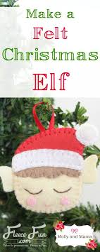 sewing patterns christmas elf felt elf tutorial from molly and mama sewing crafts elves and
